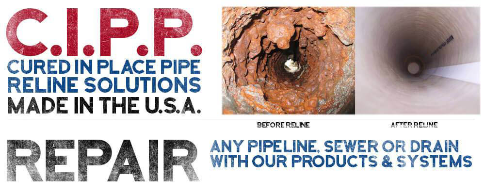 No Dig Sewer Pipe Repair, Sewer Repair, Sewer Line Repair
